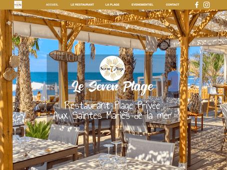 Création site Web - Seven Plage