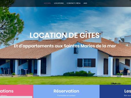 Création de site web locations saisonnières