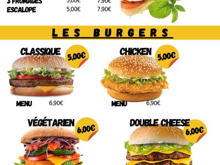 """Affiches et Flyers Snack """"Le Delta"""""""