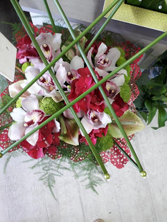 composition florale christi'flor