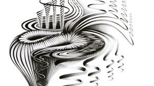 Pencil on paper 30 x 40 cm