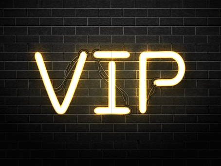 VIP Tickets now on sale!