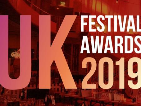 Shortlisted for the UK Festival Awards