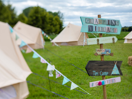 Glamping booking now available