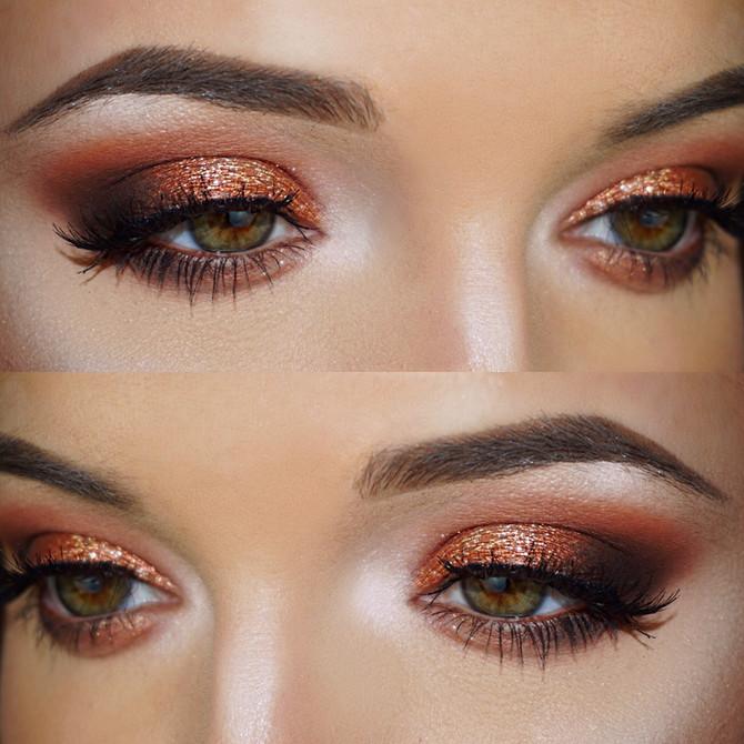 Copper Smokey Eye :Makeup Details