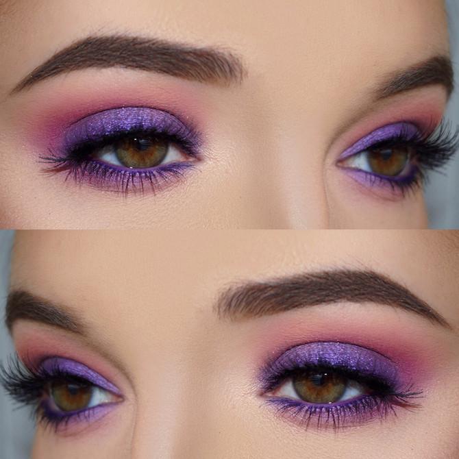 Purple Haze: Makeup Details