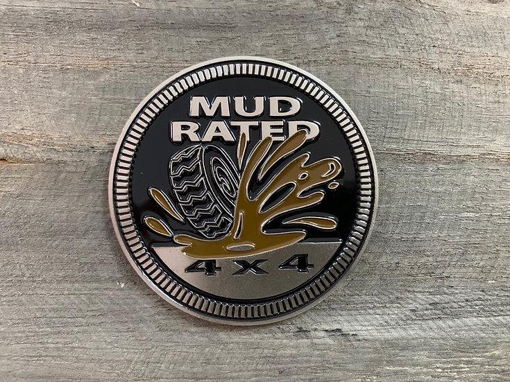 Badge - Mud Rated