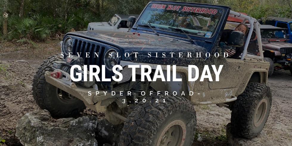 SSS Girls Trail Day - Spyder Offroad 3.20.21
