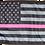 Thumbnail: ★USA Subdued Thin Pink Line Flag★