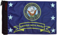 ★Navy Served With Pride Flag★