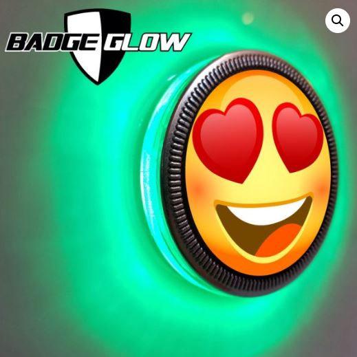 Badge Glow - Green
