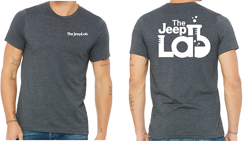 JeepLab - White Print Shirt