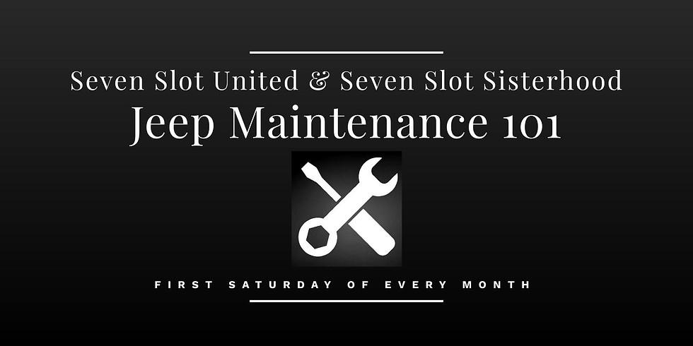 September - Jeep Maintenance 101