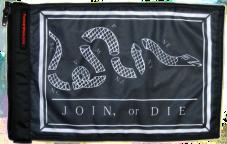 ★Franklin Join or Die Flag★