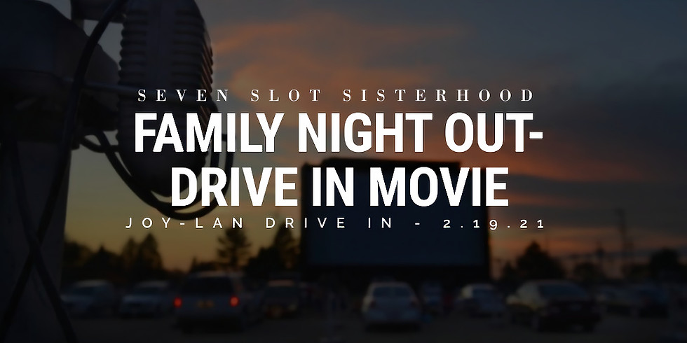 SSS - Family Night Out - Drive In Movie Night