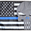 Thumbnail: ★USA Subdued Thin Blue Line Punisher Flag★