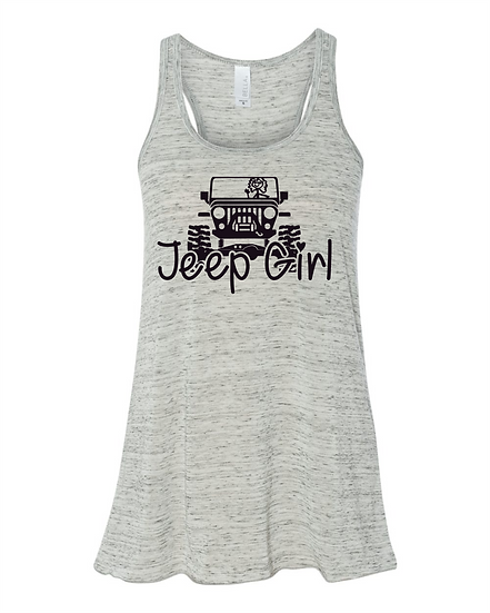 Apparel -Girl In Jeep