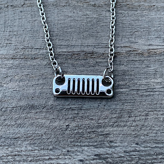 JK Grill Necklace (2 colors to choose from)