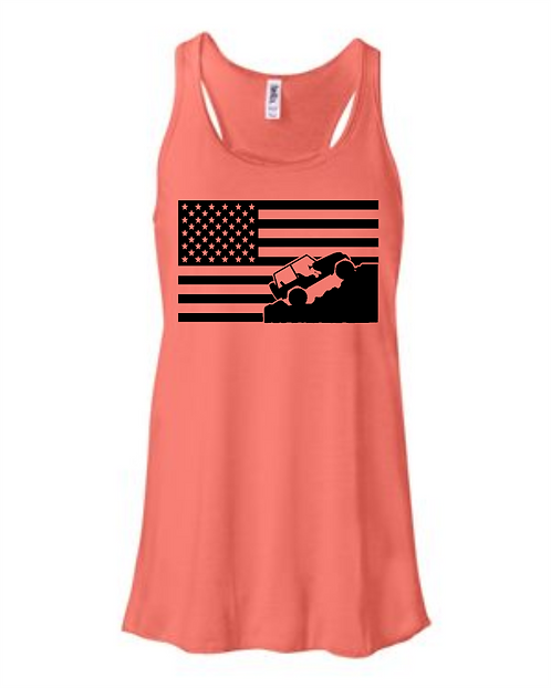 Jeep Flag -Flowy Tank
