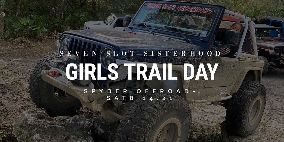SSS Girls Trail Day - Spyder Offroad 8.14.21