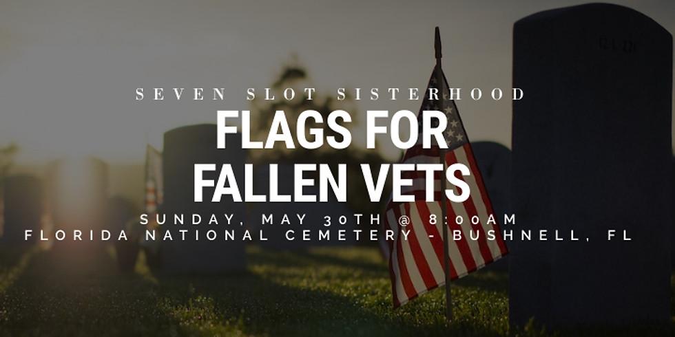 SSS - Flags For Fallen Vets 5.30.21