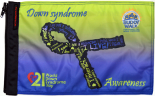★Down syndrome Awareness Flag★