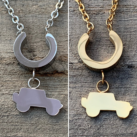 Jeep Necklace (3 colors to choose from)