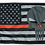 Thumbnail: ★USA Subdued Thin Red Line Punisher Flag★