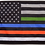 Thumbnail: ★USA Subdued Honor The 4 Flag★