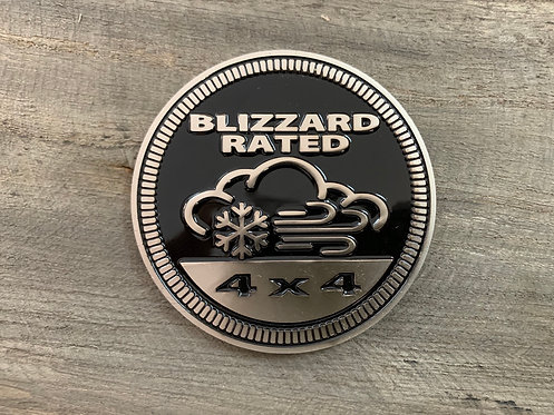Badge - Blizzard Rated (Black)