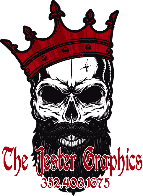 The Jester Graphics Decal