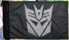 ★Transformers Decepticon Flag★