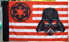 ★Star Wars Vader Imperial Flag★