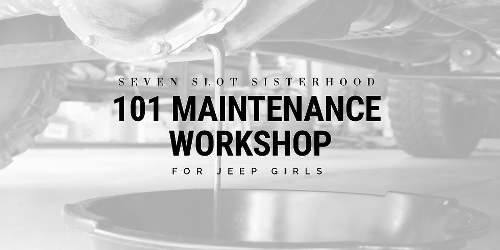 SSS - 101 Maintenance Workshop