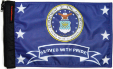 ★Air Force Served With Pride Flag★