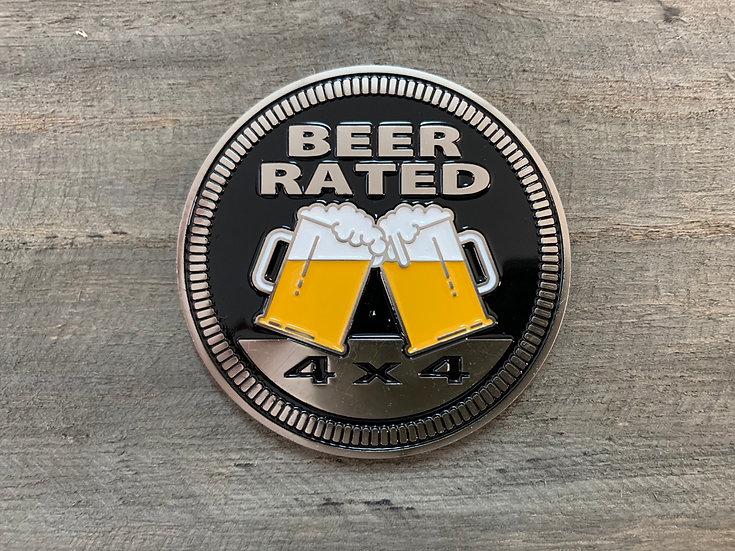 Badge - Beer Rated (Black)