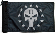★Punisher Three Percenter Flag★