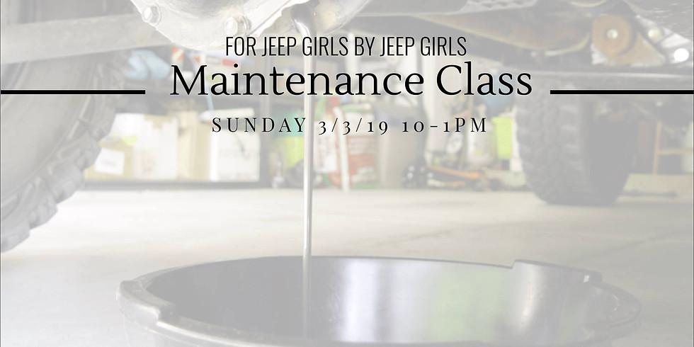 Seven Slot Sisterhood - Maintenance Class