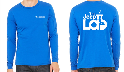 JeepLab - White Print Long Sleeve