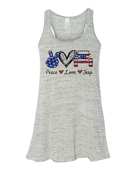 Apparel - USA Peace-Love-Jeep