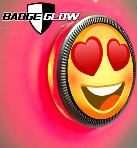 Badge Glow - Red