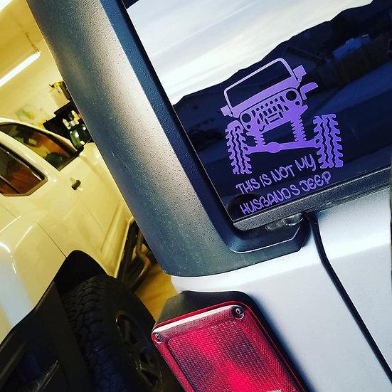 Not My Boyfriend's/Husband's Jeep