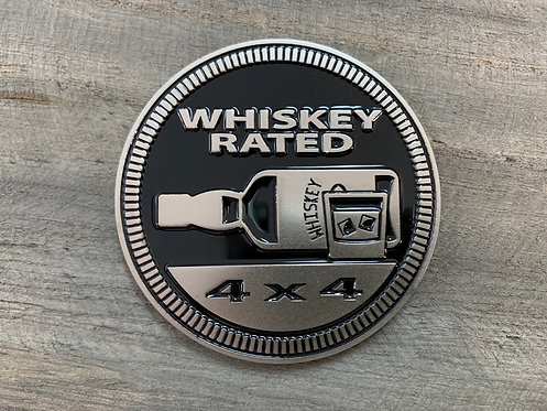 Badge - Whiskey Rated