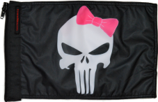 ★Punisher Pink Ribbon Flag★