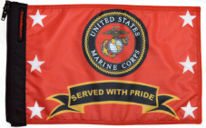★Marines Served With Pride Flag★