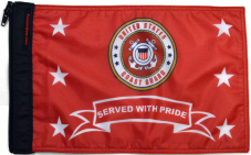 ★Coast Guard Served With Pride Flag★