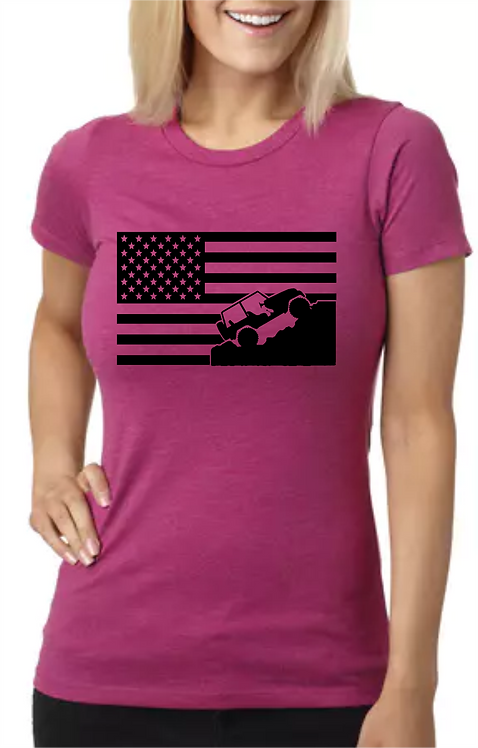 Jeep Flag-Fitted Tee