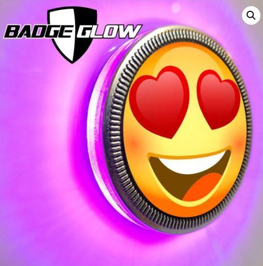 Badge Glow - Pink/Violet