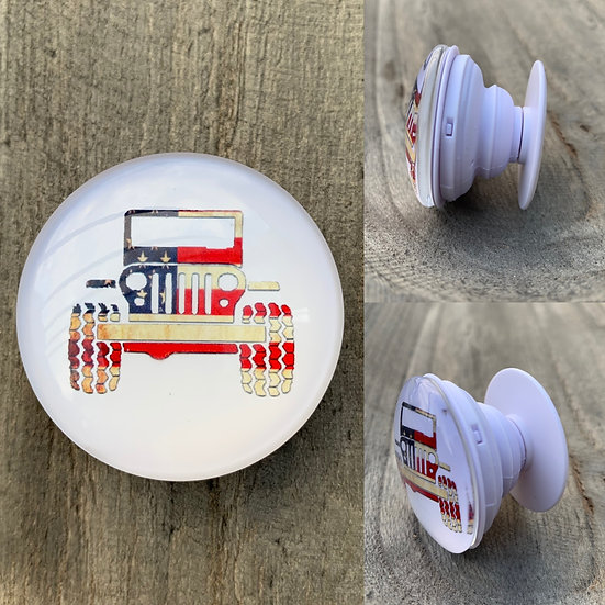 Jeep Themed Pop Sockets (15 styles to choose from)
