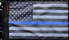 ★USA Subdued Thin Blue Line Flag★